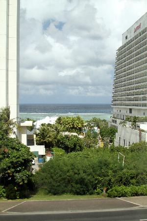 Royal Orchid Guam Hotel: View of the ocean