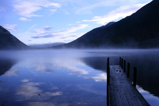 Heaphy Track: Nelson lakes - Misty Morning