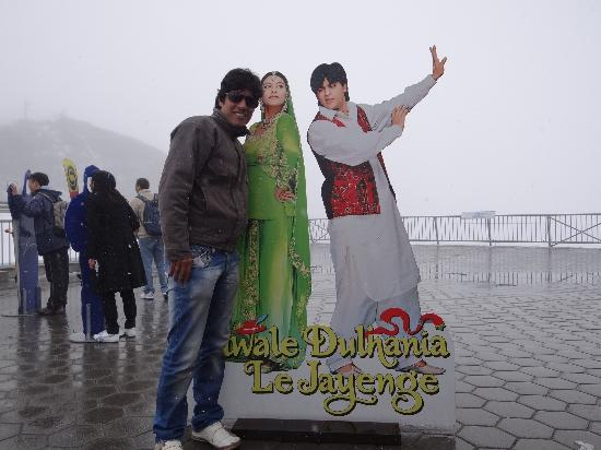 Engelberg, Schweiz: DDLJ a Bollywood movie shot here.