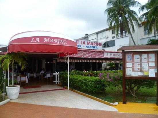 Restaurant La Marine : l'entrée