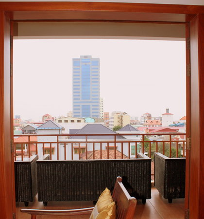 Aqua Boutique Guesthouse: View-Overlooking to the beauty of city landscape