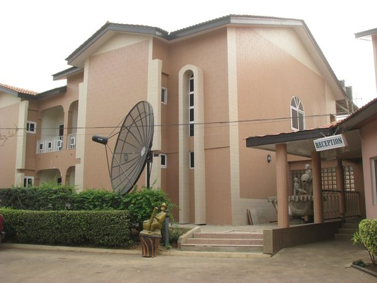 Tamale, Ghana: Mariam Hotel - Main Block