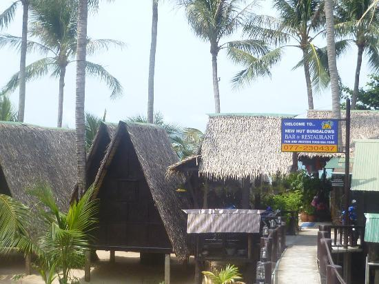 New Hut Bungalows : Outside New Hut
