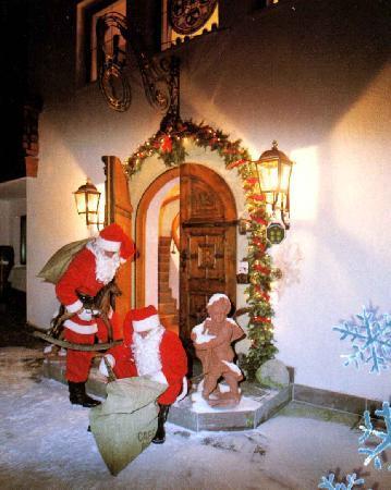 Sunneschlössli Tannheimer Tal: der Weihnachtsmann kommt