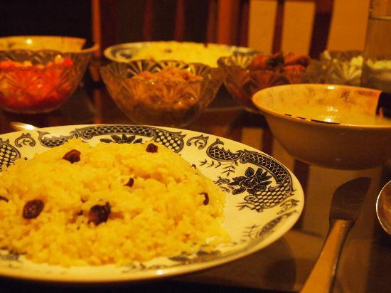 Anne's Maisonnette: Sri lankan dinner