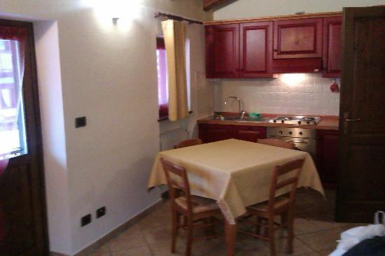 Residence Alouette: Kitchen