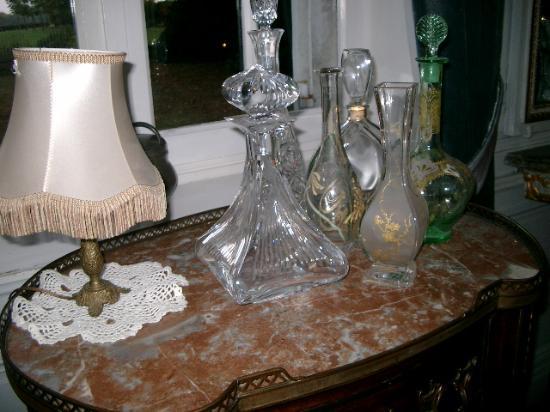 Le Manoir de Bray : cristal.....