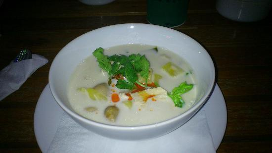 Lanta Island Resort: lecker Essen- Tom Ka Gai