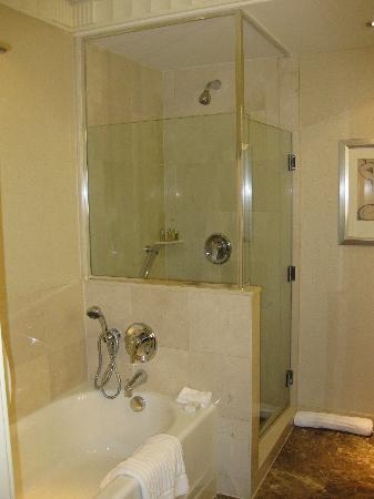 Vasca e doccia separate foto di sofitel new york new york city tripadvisor - Progetto bagno con vasca e doccia ...