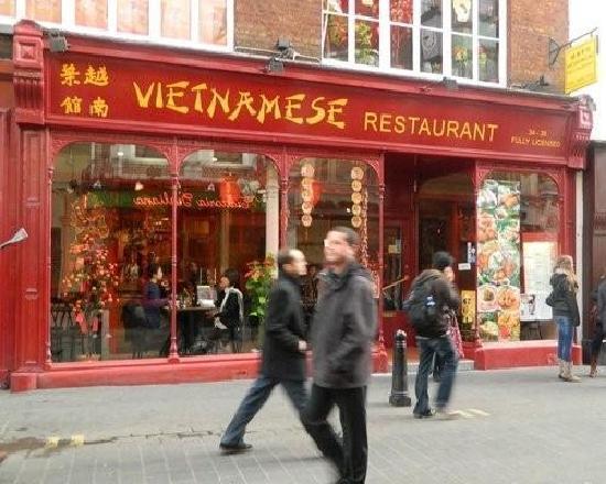 Vietnamese Restaurant Soho London