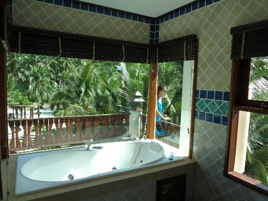 Salle de bain ouverte sur chambre humidit for Salle de bain ouverte