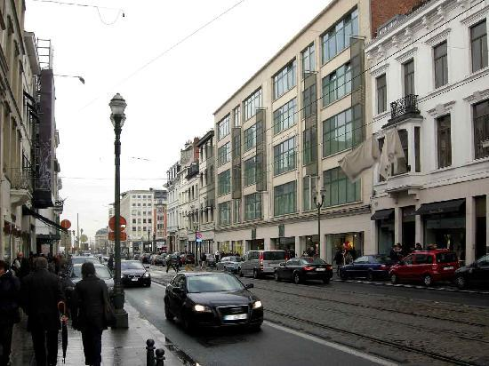 Avenue Louise : The top part of Louise