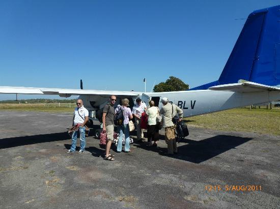 Pestana Inhaca Lodge: Flieger nach Inhaca
