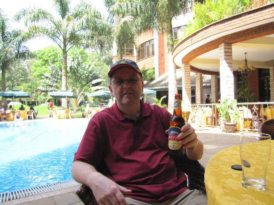 Kibo Palace Hotel: Pool area