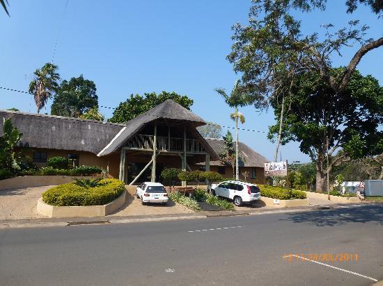 AmaZulu Lodge: Eingangsbereich
