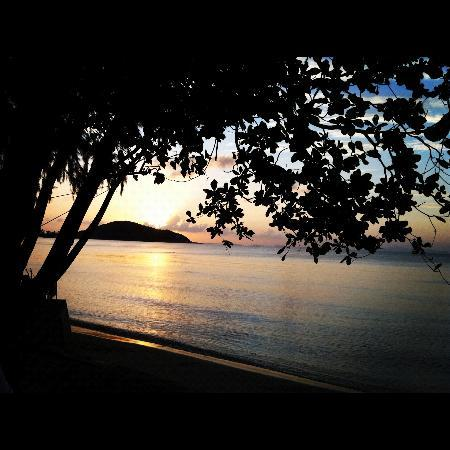 Rajapruek Samui Resort: Beautiful sunset..