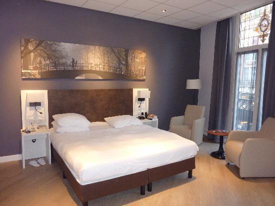 Hotel Amsterdam - De Roode Leeuw: Superior room.