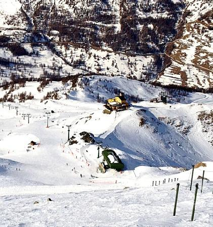 Hotel Banchetta: vista dalla cima del banchetta