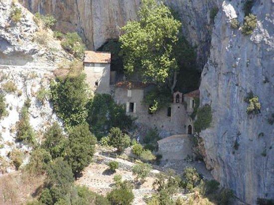 Gorges de Galamus: Hermitage de St Antoine-Galamus