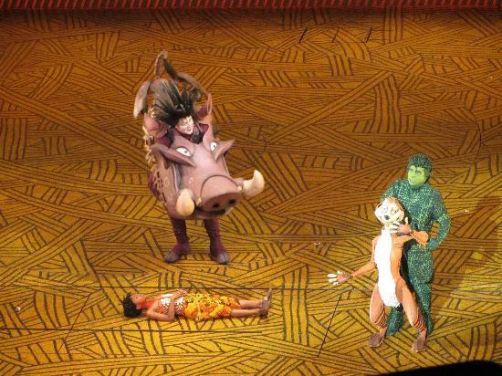ละครเวที เดอะไลอ้อน - โรงละครไลเซียม: The Lion King