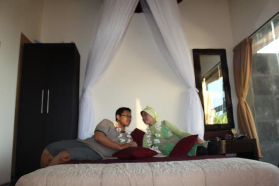 Our Room Picture Of Bali Elephants Villa Jimbaran Tripadvisor