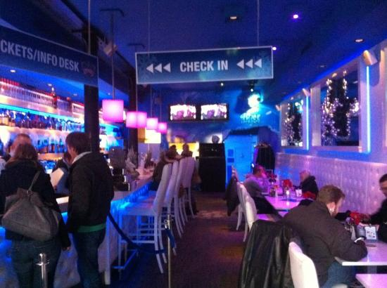 Regular bar outside of the ice bar picture of xtracold icebar amsterdam amsterdam tripadvisor - Picture of bar ...
