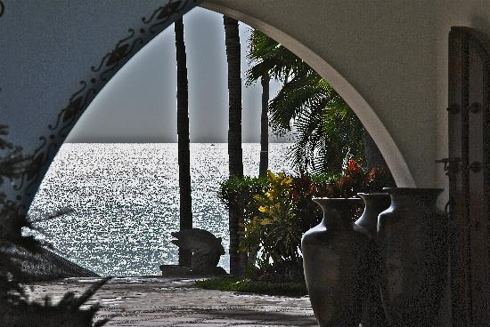 One & Only Palmilla Resort: The amazing lobby entrance !