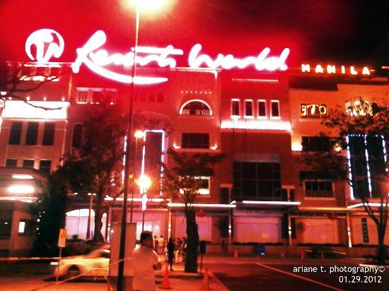 Resorts World Manila at Night