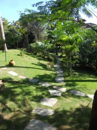 Pousada Le Palmier: Jardín