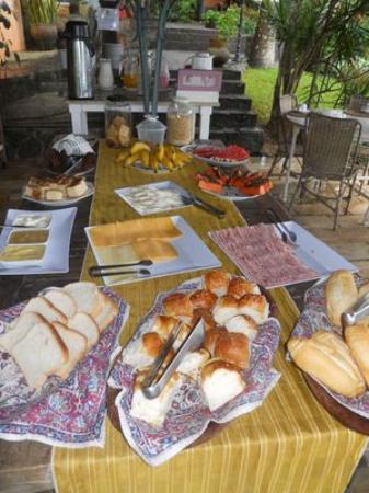 Pousada Le Palmier: Desayuno