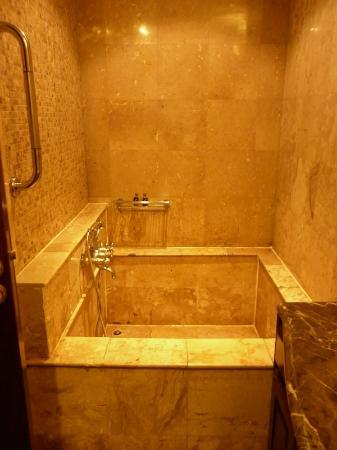 Four Seasons Place: Baht tub