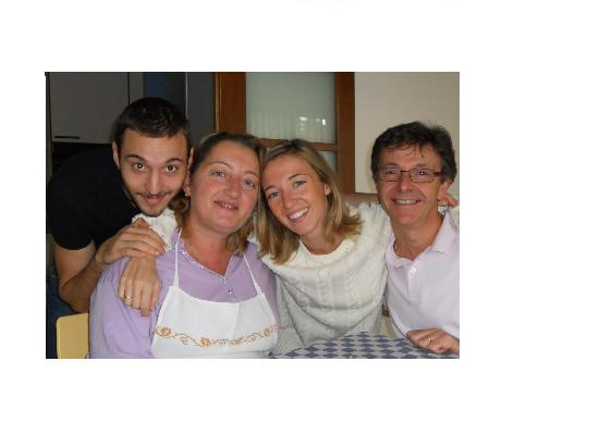 B&B Al Museo : Donatella con la famiglia