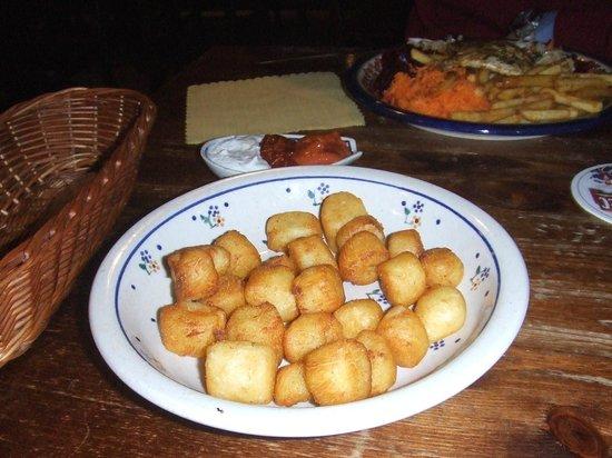 Chatka przy Jatkach: crocchette di patate