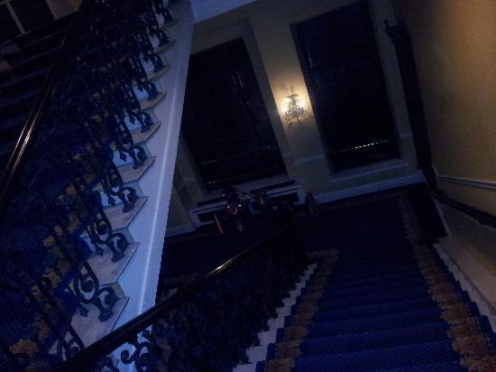 Elite Hotel Mollberg: Grand staircase