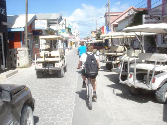 Victoria House Resort & Spa: Bicycling San Pedro