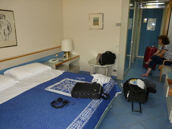 Club Lipari Hotel : Vue de notre chambre