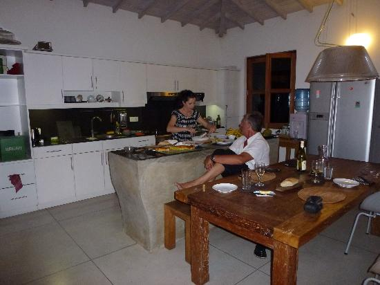 Baramba House: the lady of the house, an excellent chef