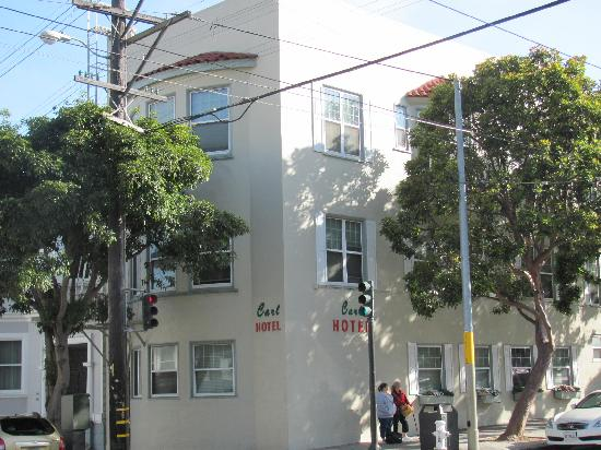 Carl Hotel: fachada