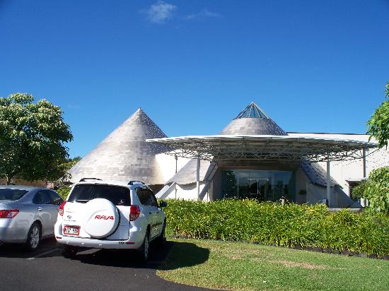 Imiloa Astronomy Center: An outside view of the facility