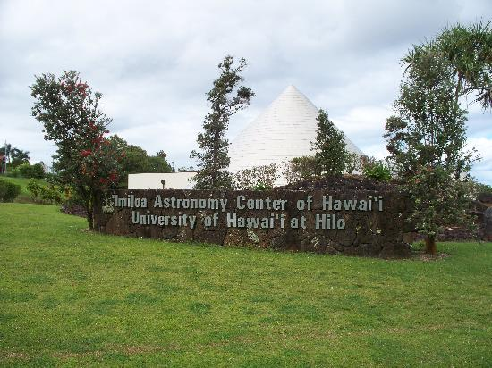 Imiloa Astronomy Center: It's at the U. of Hawaii, Hilo