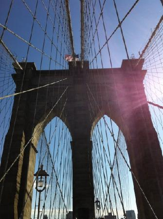 Inside Out Tours: Brooklyn Bridge (Manhatten side)