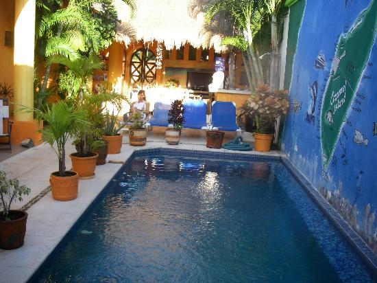Casita de Maya: the pool area so pretty