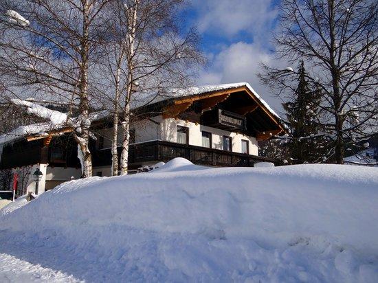 Gaestehaus Christl: bunch of snow this season