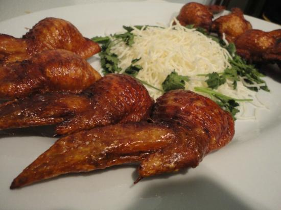 Good Buddy Restuarant: Stuffed Chicken Wings (special ordered :) )
