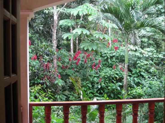 Hotel Las Tres Banderas : Balcón de la habitación