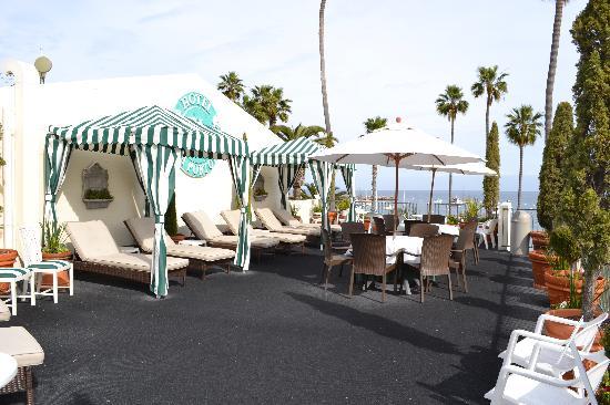Hotel Villa Portofino: Sundeck