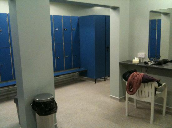 Hallmark Hotel Gloucester: The changing area