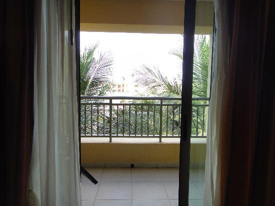Iberostar Bahia: balcon de la habitacion
