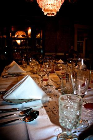 Inn Victoria: Table setting