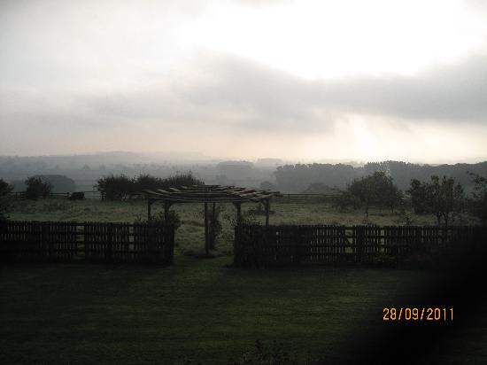 Hall Farm Bed and Breakfast: A view from the bedroom